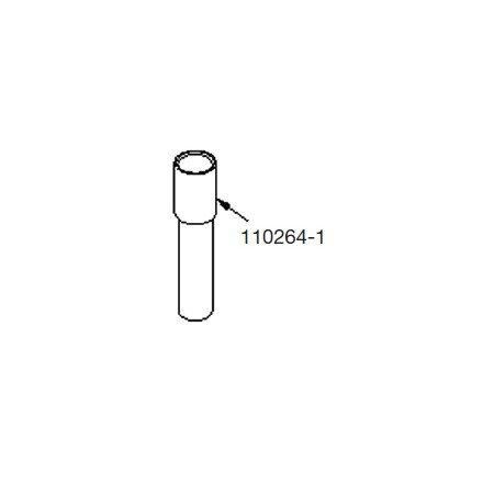 GPI 110264-1 Top Suction Pipe for M-150S-EM Electric Fuel Pump