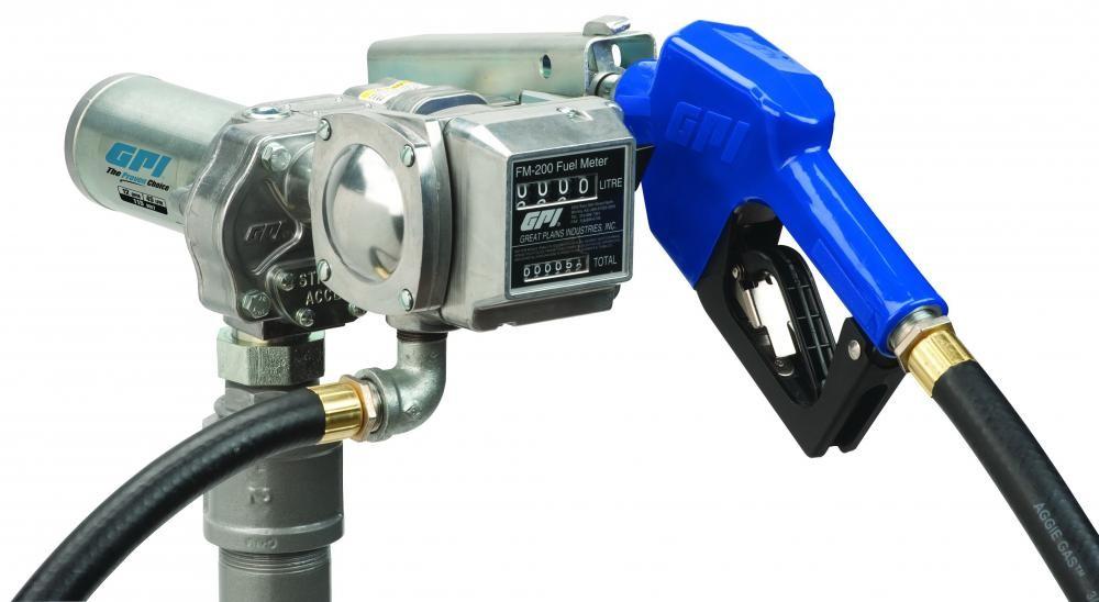 GPI M-150S-AU / FM-200-G6N 12V Fuel Transfer Pump / Meter Combo