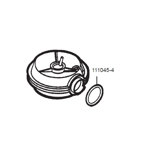 GPI 111045-4 Nutator O-Ring for the LM-300 & FM-300H Meter