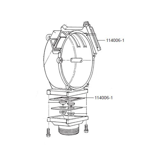 GPI 114006-1 Seal for HP-100 Dual-Flo Piston Hand Pump