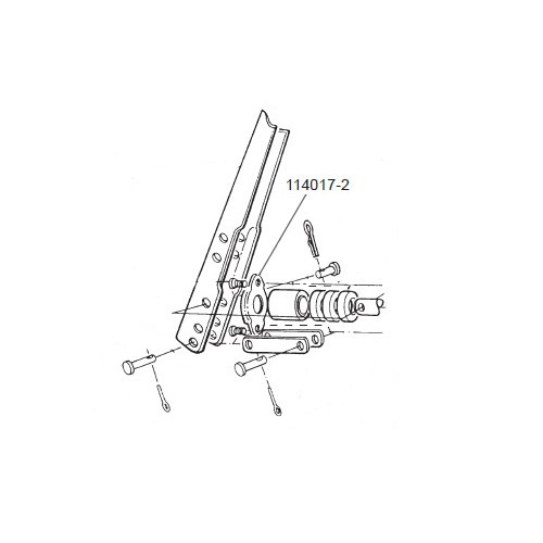 GPI 114017-2 Retainer for HP-100 Dual-Flo Piston Hand Pump