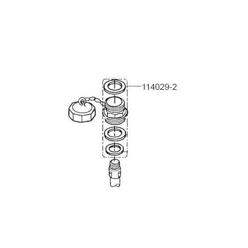 GPI 114029-2 EPDM Gasket for P-120H & P-200H 12V Plastic Utility Pump