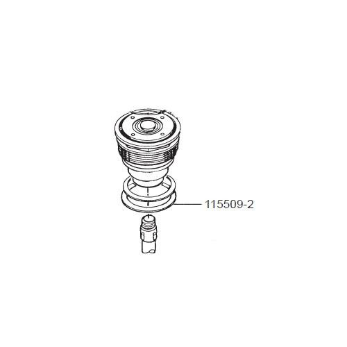GPI 115509-2 EPDM Gasket Assembly for P-120H & P-200H 12V Plastic Utility Pump