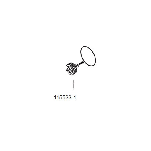 GPI 115523-1 Piston Assembly Kit for VP12H/H High Viscosity Pump