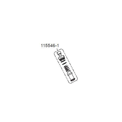 GPI 115546-1 Bypass Valve Assembly Kit for VP12H/H High Viscosity Pump