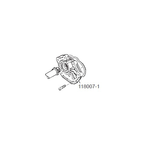 GPI 118007-1 Coverplate for P-120H & P-200H 12V Plastic Utility Pump