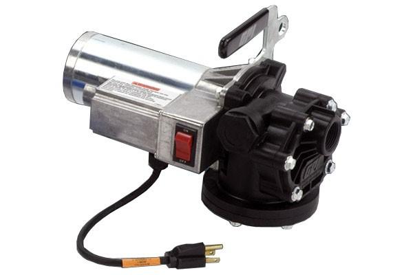 GPI PA-120DEF 115V AC DEF Transfer Pump w/ Auto Nozzle, Hose, RSV Micro Matic Coupler (12 GPM)
