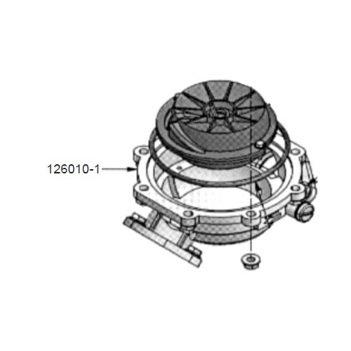 GPI 126010-41 Housing for FM-530 Mechanical Fuel Meter