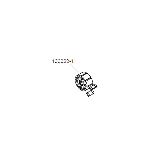 GPI 133022-1 Heavy Duty Rotor for M-3025 & M-3425 Pump