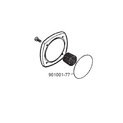 GPI 901001-77 Filter Can & Strainer Coverplate Seal for FM-100 & FM-200 & LM-200 Mechanical Meter
