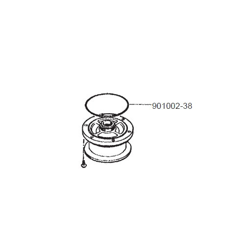 GPI 901002-38 Herbicide Inlet O-Ring for PA-120H & PA-200H 115V Pump