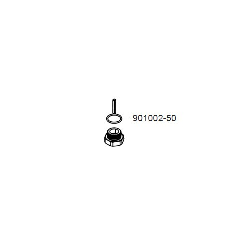 GPI 901002-50 Super Duty Poppet Plug O-Ring
