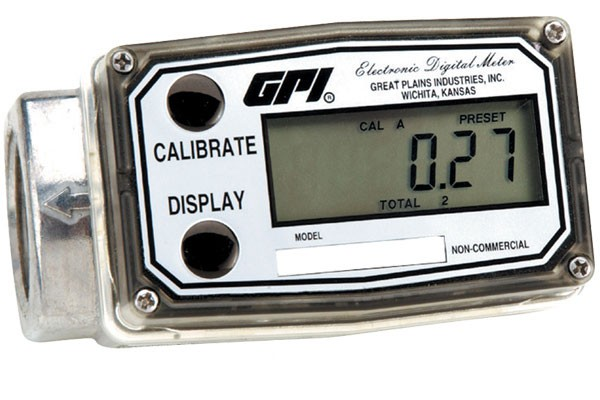 GPI A109GMA025NA1 Commercial Grade Fuel Flow Meter (0.3 - 3.0 GPM)