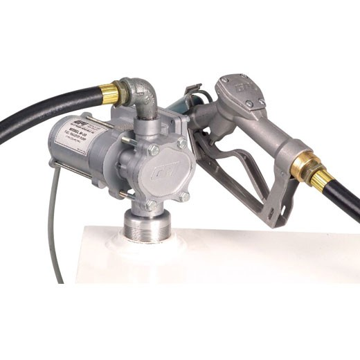 GPI EZ-8 12 Volt Light Weight Fuel Transfer Pump (8 GPM)