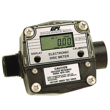 GPI Electronic Disk Chemical Flowmeter (Commercial)