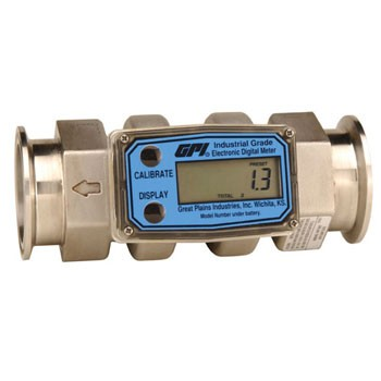 GPI Turbine Flowmeter (Commercial) with Tri-Clover® Fitting