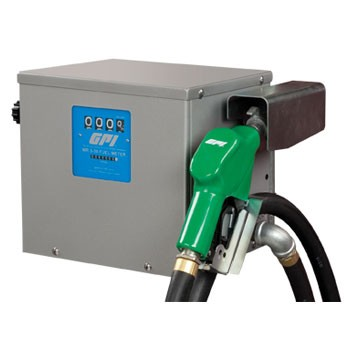 GPI 115 Volt Transfer Pump & 230 Volt Transfer Pump Remote Dispenser Unit