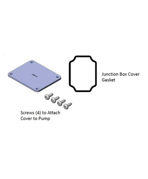 Fill-Rite KIT120JC Junction Box Cover Kit for 600 1200 2400 4200 4400 Series Pumps