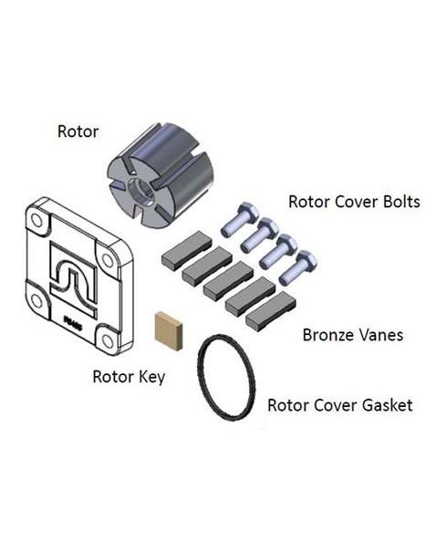 Fill-Rite KIT120RG Rotor & Vane Kit for 600 1200 2400 4200 4400 Series Pumps
