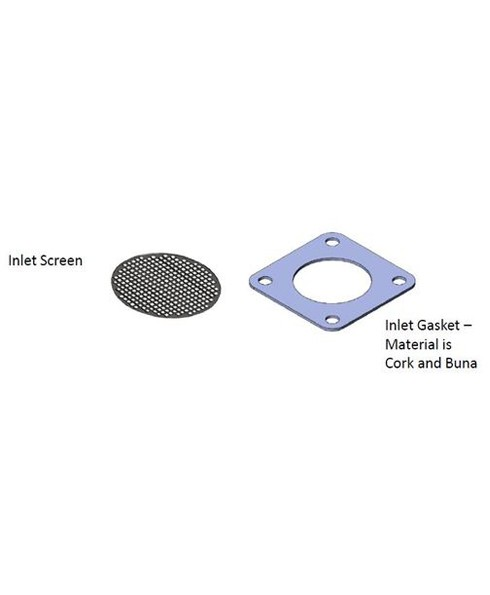 Fill-Rite KIT120SG Screen Gasket Kit for 600 1200 2400 4200 4400 Series Pumps