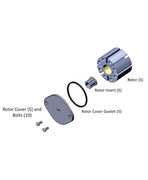 Fill-Rite KIT300RIP Bulk Rotor / Insert Kit (5 Rotors and 5 Rotor Inserts)