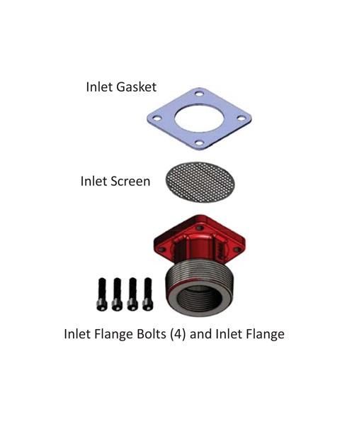 Fill-Rite KIT321BG NPT Inlet Flange Kit for NX3200 Series Pumps