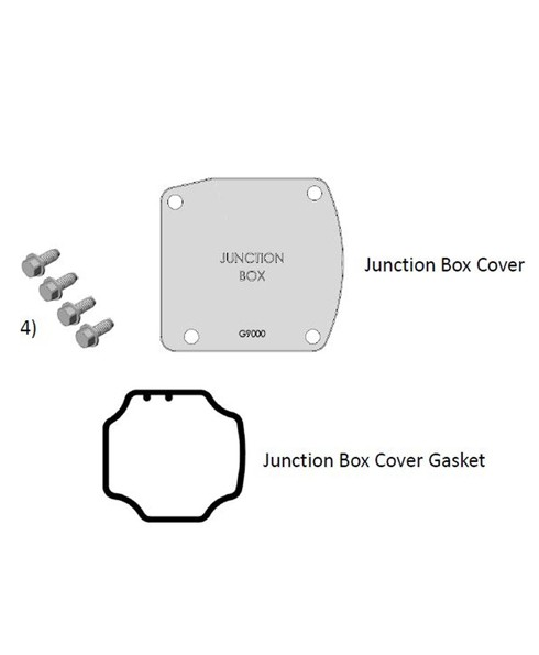 Fill-Rite KIT700JC Junction Box Cover Repair Kit for FR700 Series Pumps