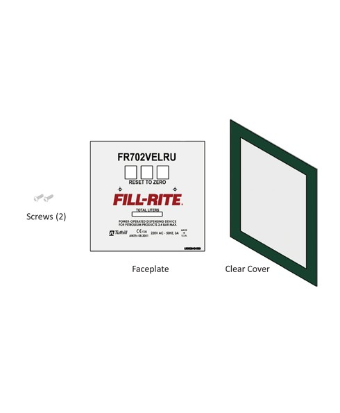 Fill-Rite KIT702VELRUFP FR702VELRU Faceplate