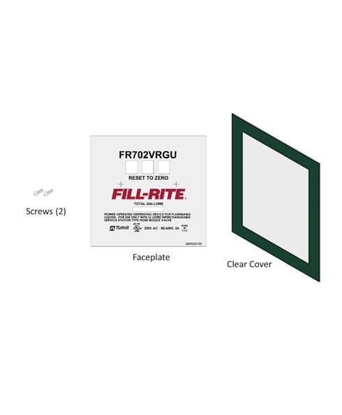 Fill-Rite KIT702VRGUFP FR702VRGU Faceplate