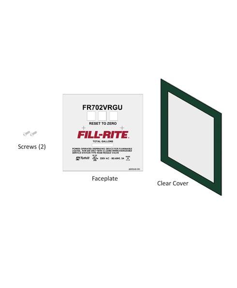 Fill-Rite KIT702VRGUFP FR702VRGU Faceplate