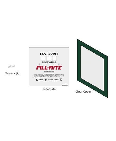 Fill-Rite KIT702VRUFP FR702VRU Faceplate