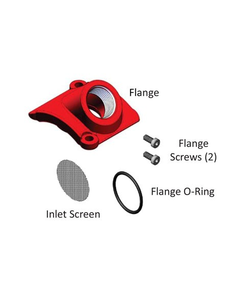 Fill-Rite KIT812FLB Single BSPP Flange Kit