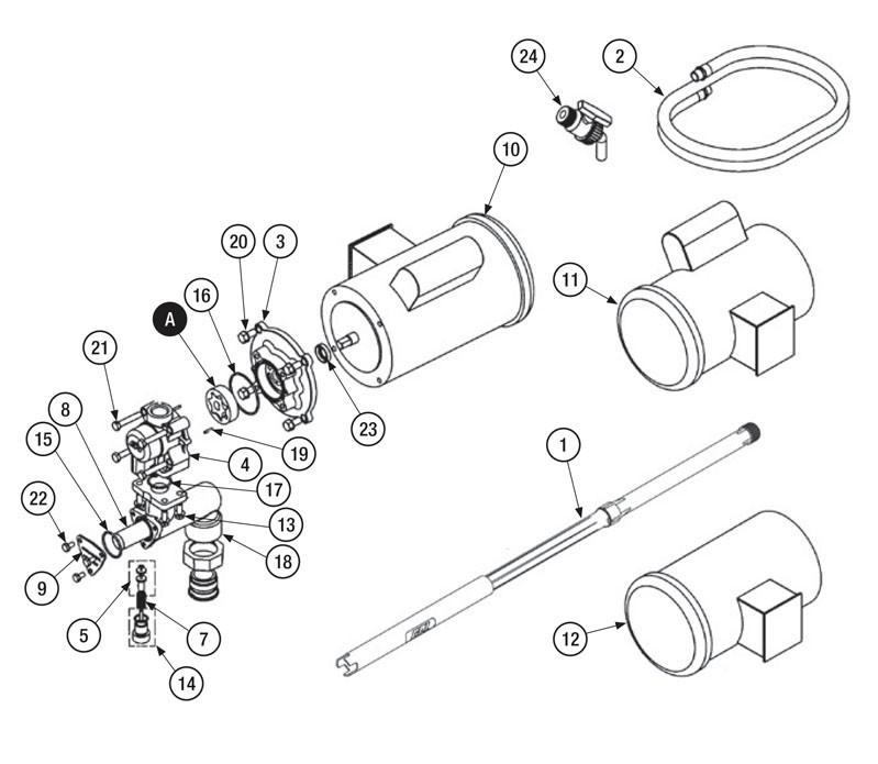 GPI 904005-59 Spring Pin (Behind Pump Body)