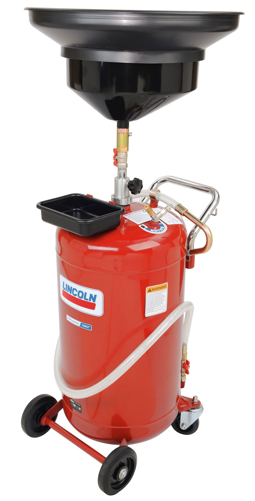 Lincoln 3635 25 Gallon Portable Used Fluid Gravity Drain