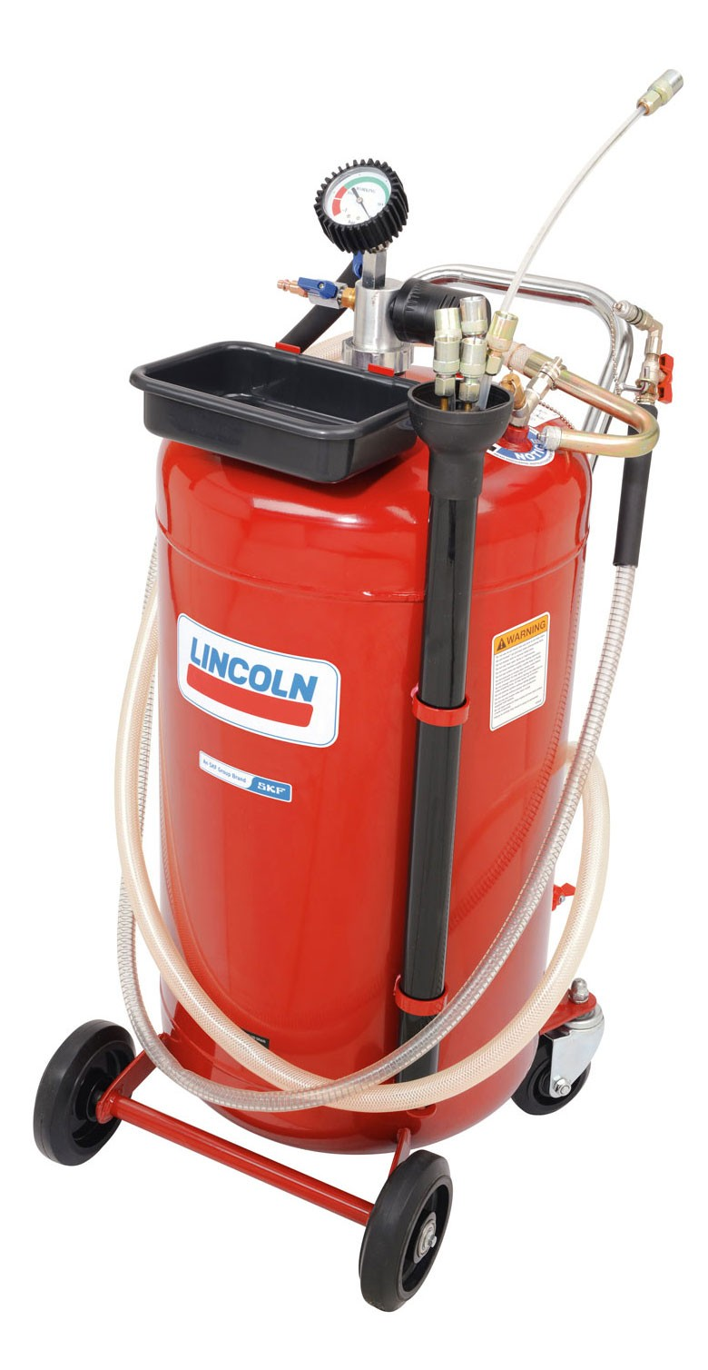 Lincoln 3637 25 Gallon Used Fluid Evacuator