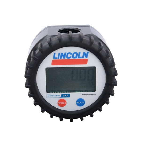 "Lincoln 817 3/4"" Universal Inline Digital Meter (8 GPM)"