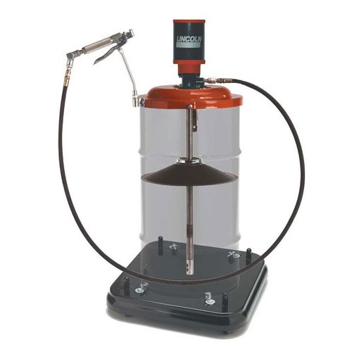 Lincoln 9917 - (50:1) Portable Pump with Caster Base