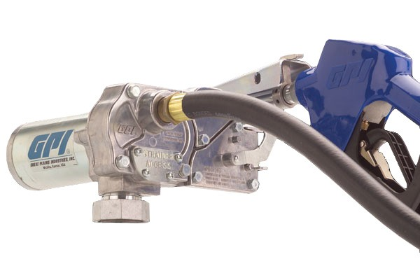 GPI M-150S-AU 12 Volt Fuel Transfer Pump (15 GPM)