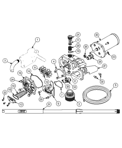 GPI 110265-02 12 (Gal) x 18' Power Cord