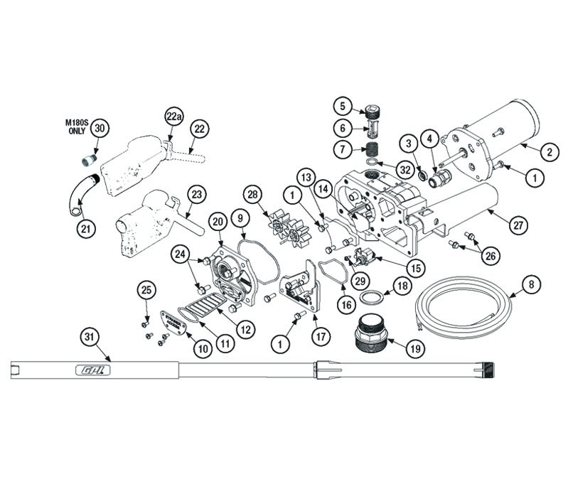 GPI 110927-05 Gear Coverplate Kit