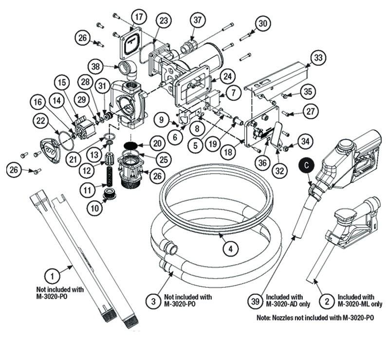 GPI 110155-24 1'' NPT Manual Leaded Nozzle