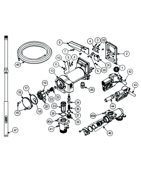 GPI 121013-503 Check Valve Assembly Kit