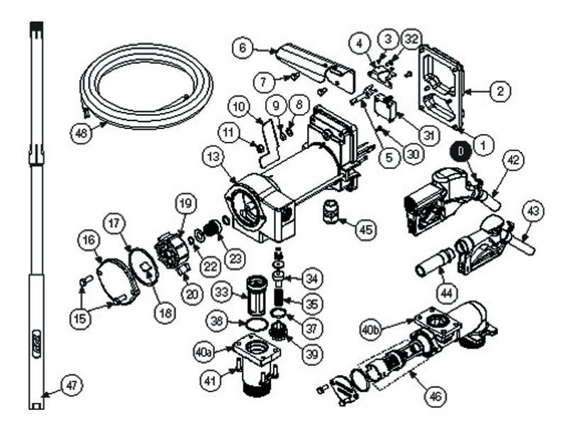 GPI 133078-1 Switch Mounting Bracket