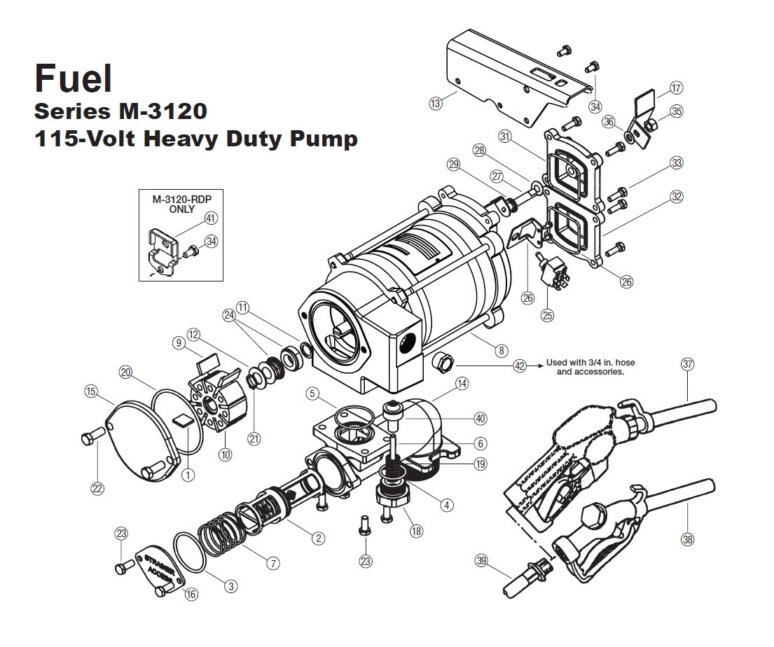 GPI 133514-01 Vapor Recover Kit for M-3120 & M-3130 Pump