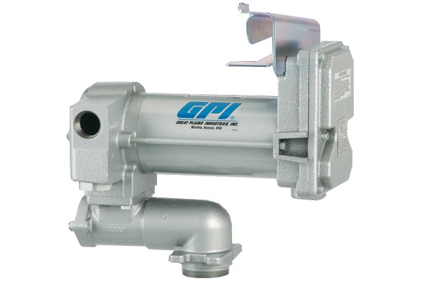 GPI M-3425CS-PO 24 Volt Heavy Duty Fuel Transfer Pump (25 GPM)