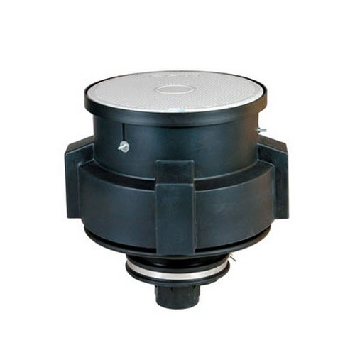 OPW 101BG-2115C 15 Gallon Below-Grade Spill Containment Manhole w/ Cast Iron Base & Drain Valve