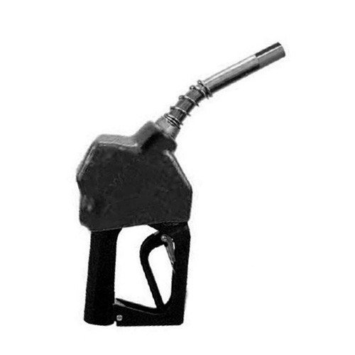 "OPW 21GE-0492 3/4"" NPT Ethanol Black Automatic Shut-Off Nozzle"