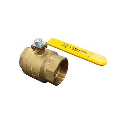 "OPW 21BV-0150 1 1/2"" Full Port Two-Way Ball Valve"