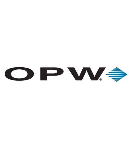 OPW P110-SP16WT4ML 16'' Special Steel Lid w/ Gauge Port