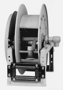 """Hannay 820-30-31-10.5A 1"""" X 100' Spring Rewind Reels"""